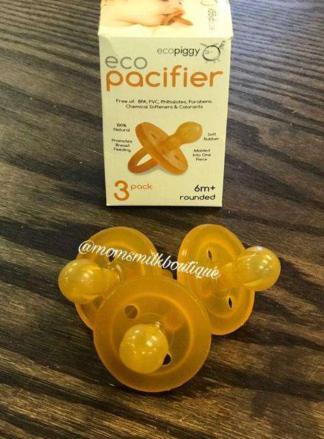 Eco Pacifier 3 pk | Rounded | 6 mo+