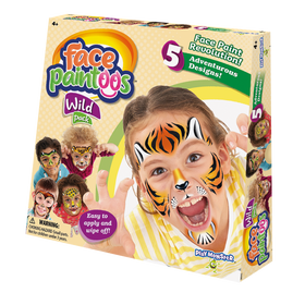 Play Monster | Face Paintoos ~ Wild Pack
