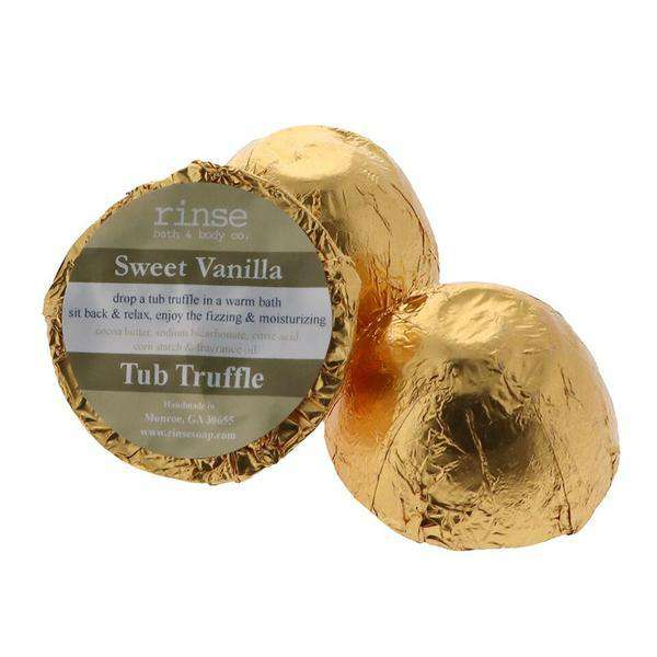 Rinse Bath Body Inc | Tub Truffle ~  Sweet Vanilla