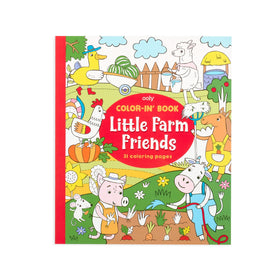 Ooly | Little Farm Friends Coloring Book