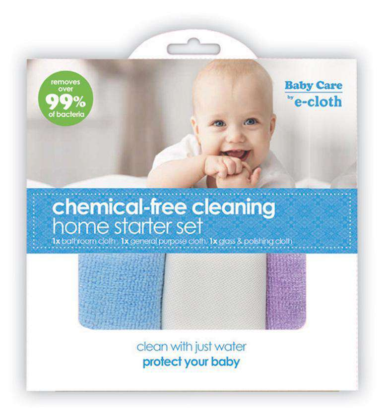 E-Cloth | Chemical-free Cleaning Home Starter Set 3pc