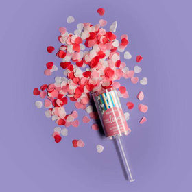 Aquamarine by Cait + Co |  Bath Bomb Confetti Push Pop ~ Make Today Lovely!