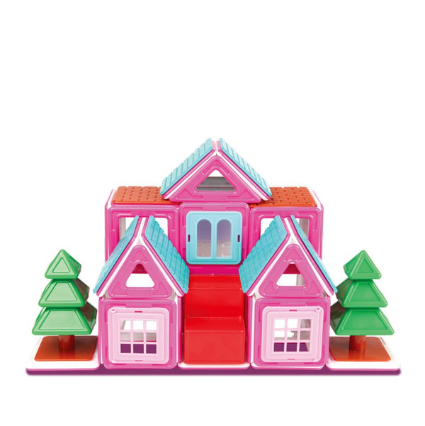 Magformers | Sweet House 64 Piece Set