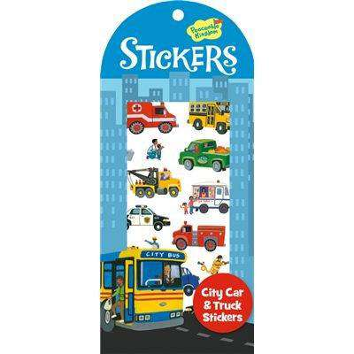 Peaceable Kingdom | Stickers ~ City Cars & Trucks