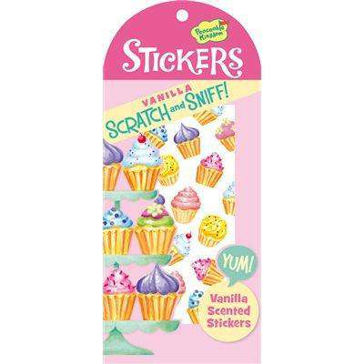 Peaceable Kingdom | Scratch & Sniff Stickers ~ Cupcakes