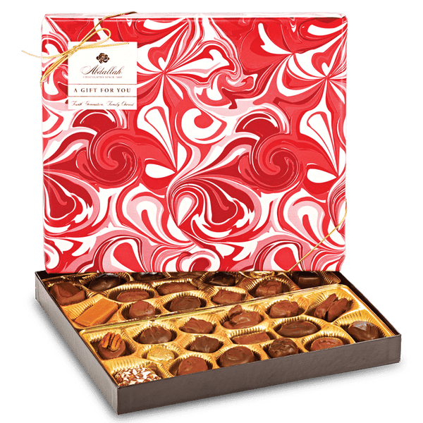 Abdallah Chocolate | Valentine's Day Selection ~ Large Wrapped Boxed Assortment