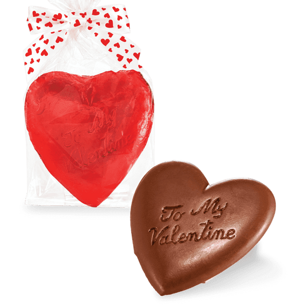 Abdallah Chocolate | Valentine's Day Selection ~ Solid  Chocolate Heart
