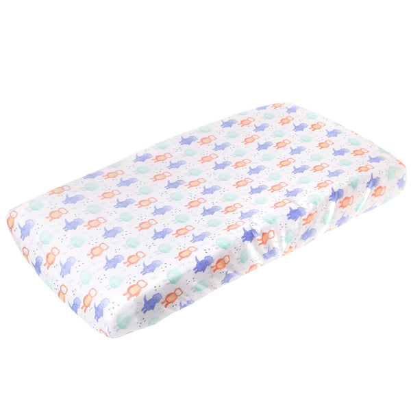 Copper Pearl | Premium Knit Diaper Changing Pad Cover ~ Max