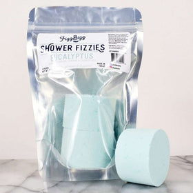 Fizz Bizz LLC - Shower Bombs - Eucalyptus Fizzies