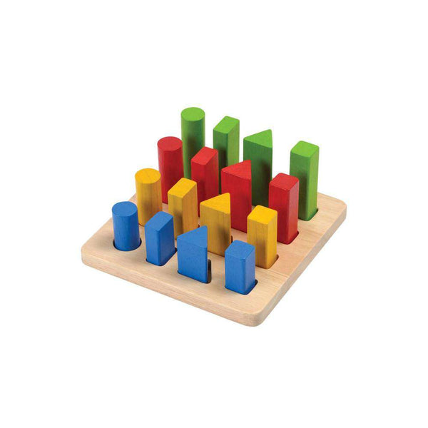 PlanToys | Geometric Peg Board