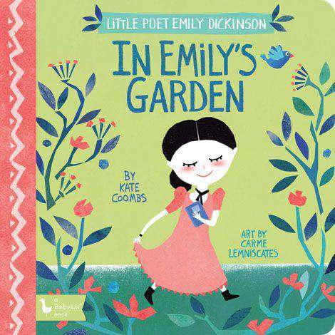BabyLit Book | Little Poet Emily Dickinson: In Emily's Garden