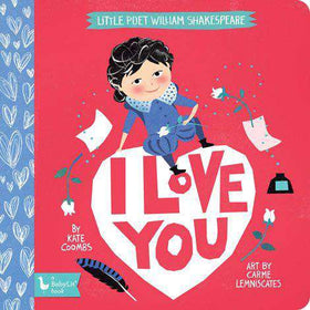 BabyLit Book | Little Poet William Shakespeare: I Love You