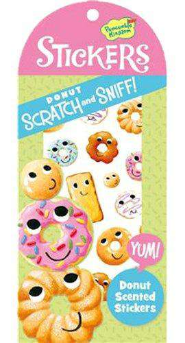Peaceable Kingdom | Scratch & Sniff Stickers ~ Donut