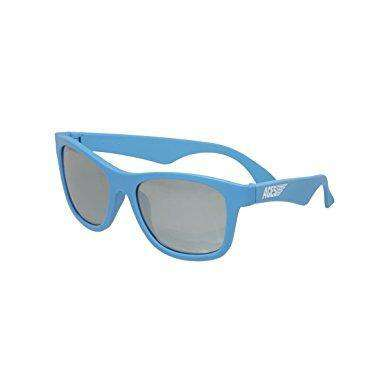 Babiators Navigator Ace | Blue Crush With Silver Mirrored Lenses