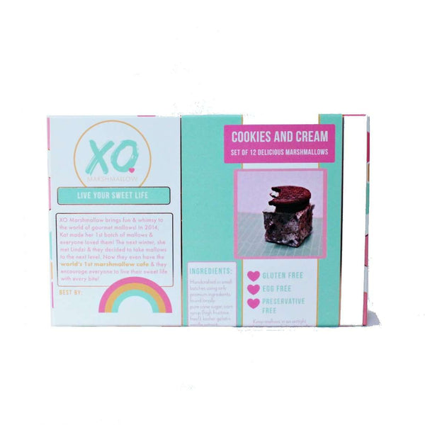 XO Marshmallow - Cookies and Cream Marshmallows