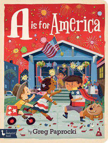 BabyLit Book | A is for America