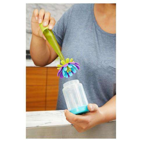 Boon | Forb Silicone Brush + Soap Dispenser
