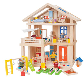 Plan Toys | Terrace Dollhouse Package