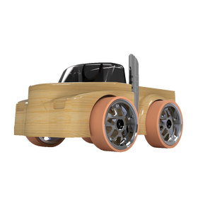 Automoblox Micro Series ~ T18L Rumbler
