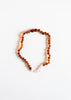 CanyonLeaf Polished Cognac + Rose Quartz | Necklace