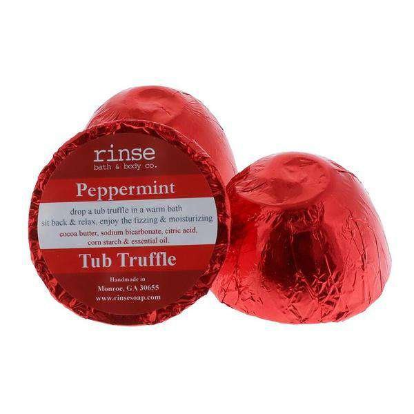 Rinse Bath Body Inc | Tub Truffle ~ Peppermint