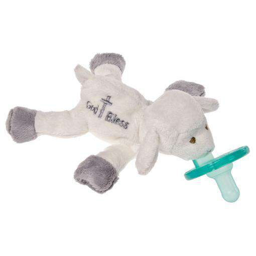 WubbaNub Pacifier | God Bless Lamb