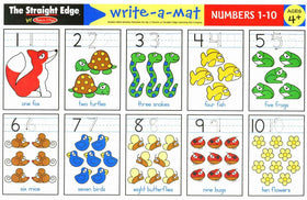 Melissa & Doug | Learning Mats ~ Numbers 1-10
