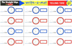 Melissa & Doug | Learning Mats ~ Telling Time