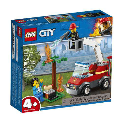 Lego City ~ Barbecue Burn Out