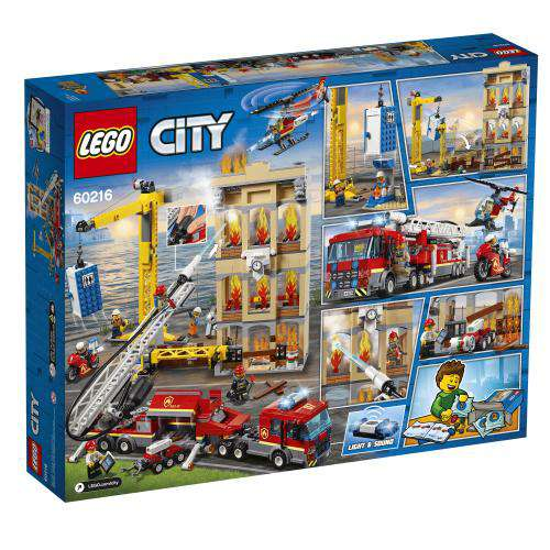 Lego City ~ Downtown Fire Brigade