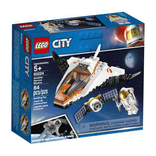 Lego City ~ Satellite Service Mission