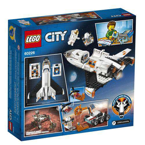 Lego City ~ Mars Research Shuttle