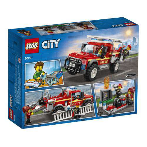 Lego City ~ Fire Chief Response Truck