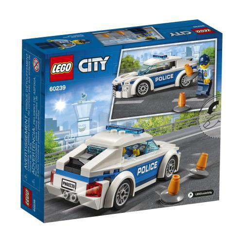 Lego City ~ Police Patrol Car V39