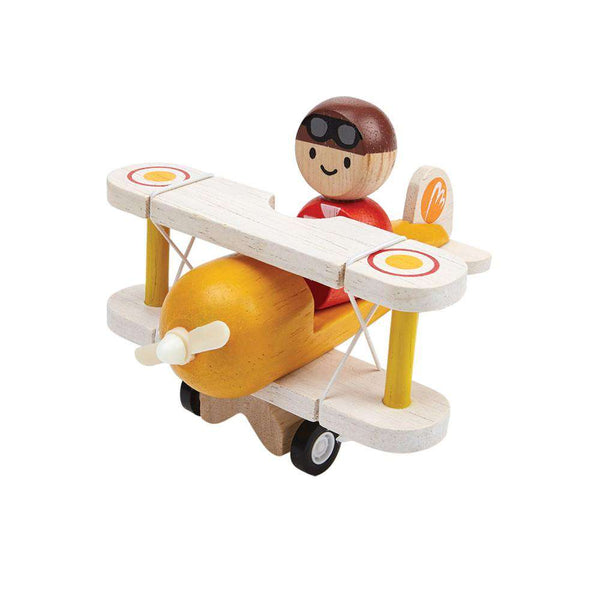 Plan Toys | Classic Airplane With Pilot