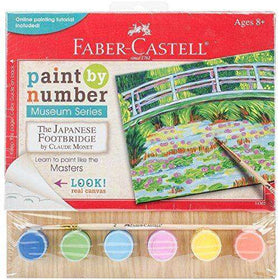 Faber - Castell | Paint by Number Museum Series - The Japanese Footbridge