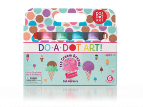 Do A Dot Art | Dot Markers ~ Ice Cream Scented 6 Pack