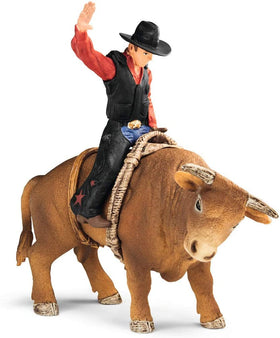 Schleich | Farm World ~ Cowboy With Bull