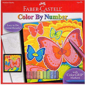 Faber - Castell | Color By Number ~ Bloomin Butterflies