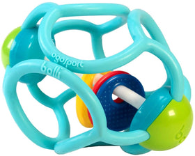OgoSport | Squishy Rattle Ball ~ Blue