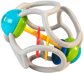 OgoSport | Squishy Rattle Ball ~ Gray