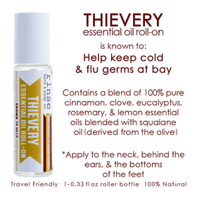 Rinse Bath Body Inc | Thievery Essential Oil Roll On