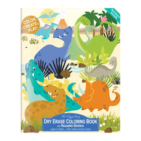 The Piggy Story - Dinosaur World Dry Erase Coloring Book