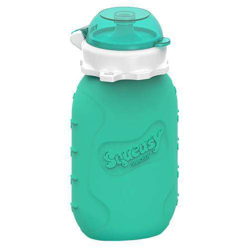 Squeasy Gear Silicone Food Pouch | Aqua Snacker