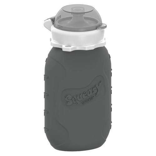 Squeasy Gear Silicone Food Pouch | Gray Snacker