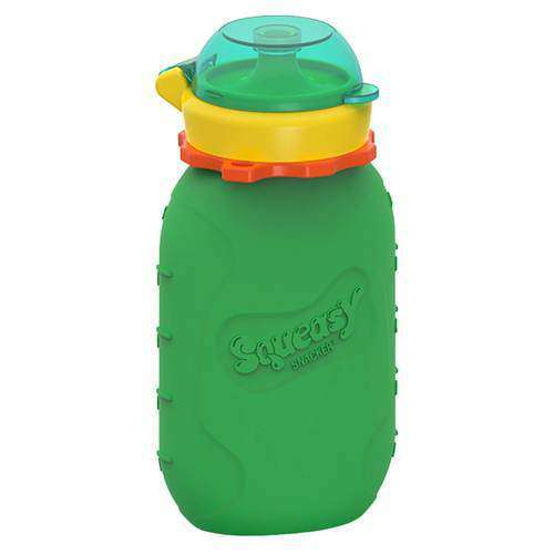 Squeasy Gear Silicone Food Pouch | Green Snacker