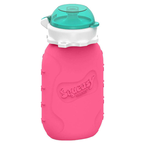 Squeasy Gear Silicone Food Pouch | Pink Snacker