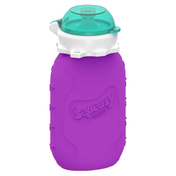Squeasy Gear Silicone Food Pouch | Purple Snacker