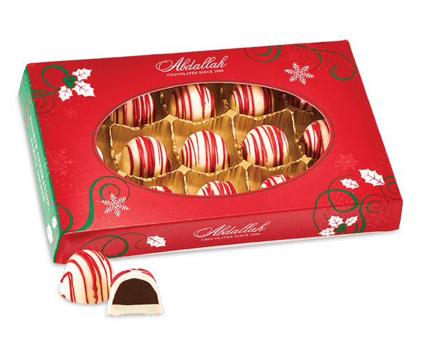 Abdallah Chocolate | Holiday Selection ~ Peppermint Truffles