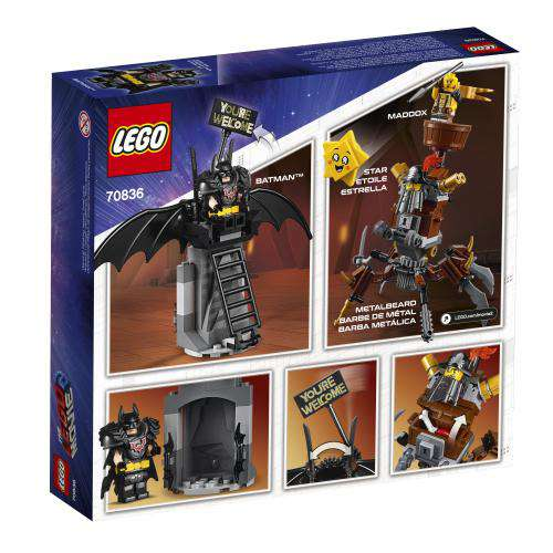 Lego | Lego Movie 2 ~ Battle-Ready Batman and MetalBeard *final sale*